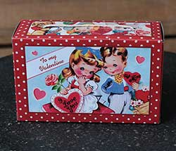 Retro Valentine Candy Box