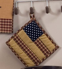 Patriotic Patch Pot Holder