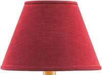 Casual Classics Lamp Shade - Persimmon (Multiple Size Options)