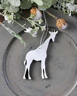 Giraffe Personalized Ornament