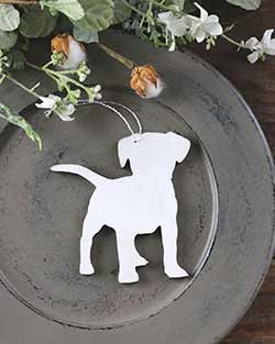 Puppy Dog Personalized Ornament