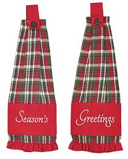 Forreston Button Loop Kitchen Towels (Set of 2)