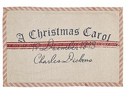 A Christmas Carol Placemats (Set of 2)