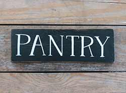 Pantry Wooden Sign