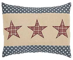 Independence Star Decorative Pillow