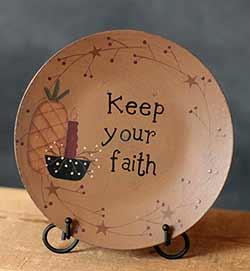 Keep Your Faith Plate