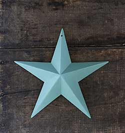 Sage Green/Blue Barn Star (Multiple Size Options)