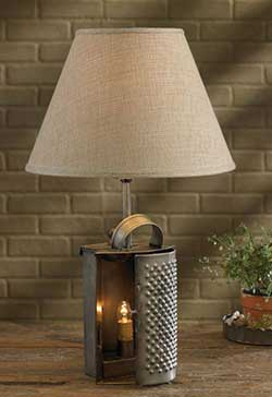 Drawer Grater Lamp Base