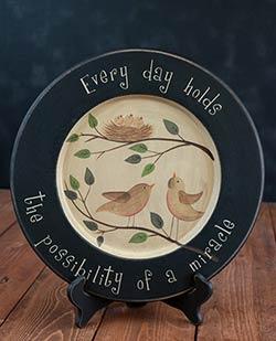 Family Birds Plate