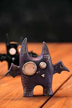 Punked Bat - Purple
