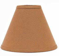 Bradford Mocha Lamp Shade - 10 inch