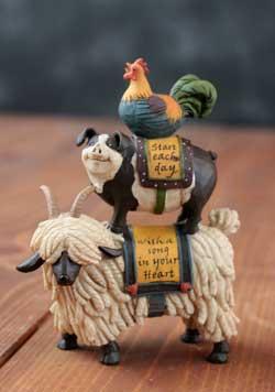 Ram, Pig, Rooster Stack