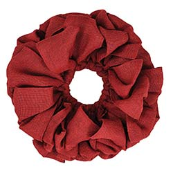 Burlap Wreath - Red (15 inch)