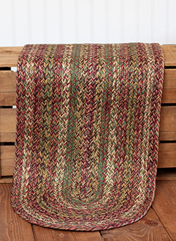Walnut Grove Braided Jute Tablerunner - 48 inch