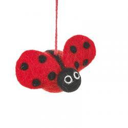 Lottie the Ladybug Ornament