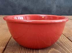 Prep/Snack Bowl - Red