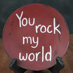 You Rock Decorative Plate