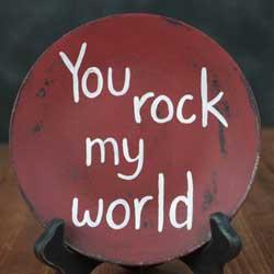 You Rock Decorative Plate