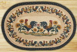 Country Morning Braided Jute Rug