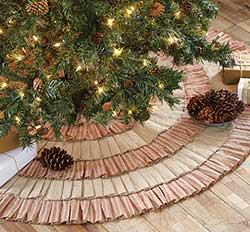 A Christmas Carol Tree Skirt