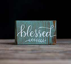 Blessed Sign/Ornament