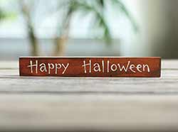 Happy Halloween Mini Stick Sign