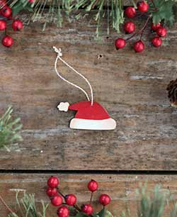 Mini Santa Hat Ornament