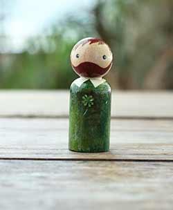 Shamrock Lad Art Doll