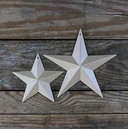 Antique Cream Barn Star (Multiple Size Options)
