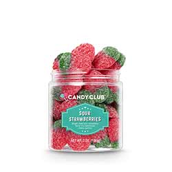 Sour Strawberries Candy
