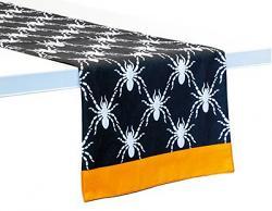Black Spider 72 inch Table Runner