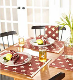 Stargazer Pino Placemats (Set of 4)