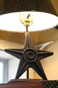 Star Lamp - Black