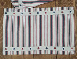 American Stripe Placemat - Woven