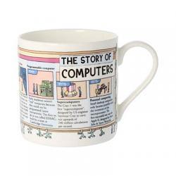Story of Computers Bone China Mug