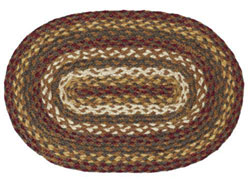 Tea Cabin Braided Placemats (Set of 6)