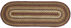 Tea Cabin Jute Tablerunner - 36 inch
