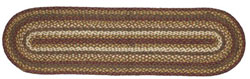 Tea Cabin Jute Tablerunner - 48 inch