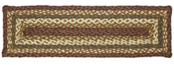 Tea Cabin Jute Stair Tread - Rectangle