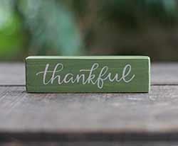 Thankful Mini Stick Sign