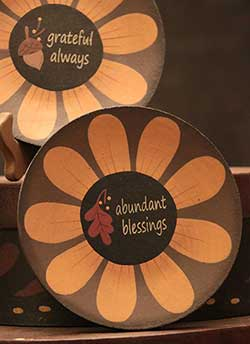 The Hearthside Collection Abundant Blessings Plate