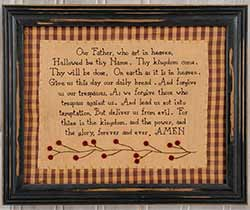 Lord's Prayer Sampler