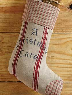 A Christmas Carol Stocking