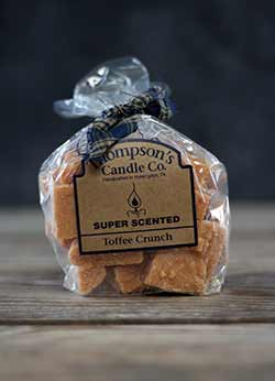 Toffee Crunch Scented Wax Crumbles