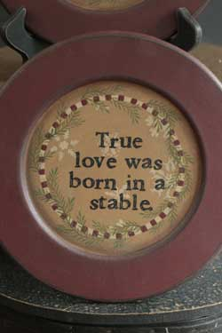 True Love Garland Plate