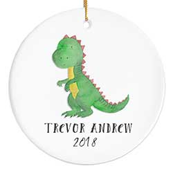 T-Rex Personalized Ornament