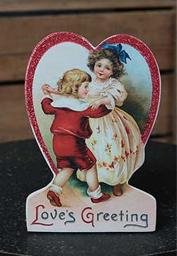 Love's Greeting Valentine Dummy Board