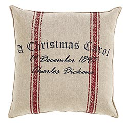 VHC Brands A Christmas Carol Date Pillow
