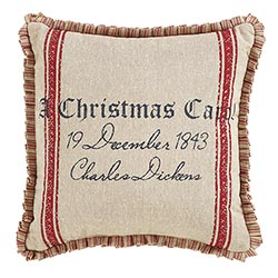 VHC Brands A Christmas Carol Pillows (Set of 2)