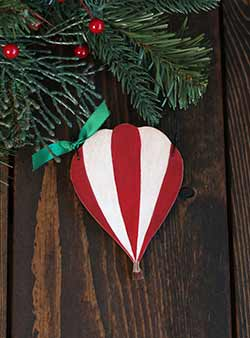 Hot Air Balloon Personalized Ornament